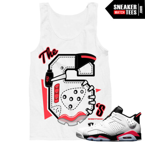 infrared 6 low tank tee to match