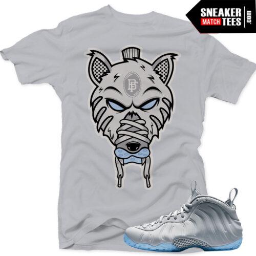 Wolf Grey Foams t shirts