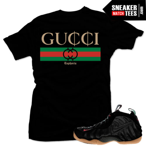 Gucci Foamposite t shirts