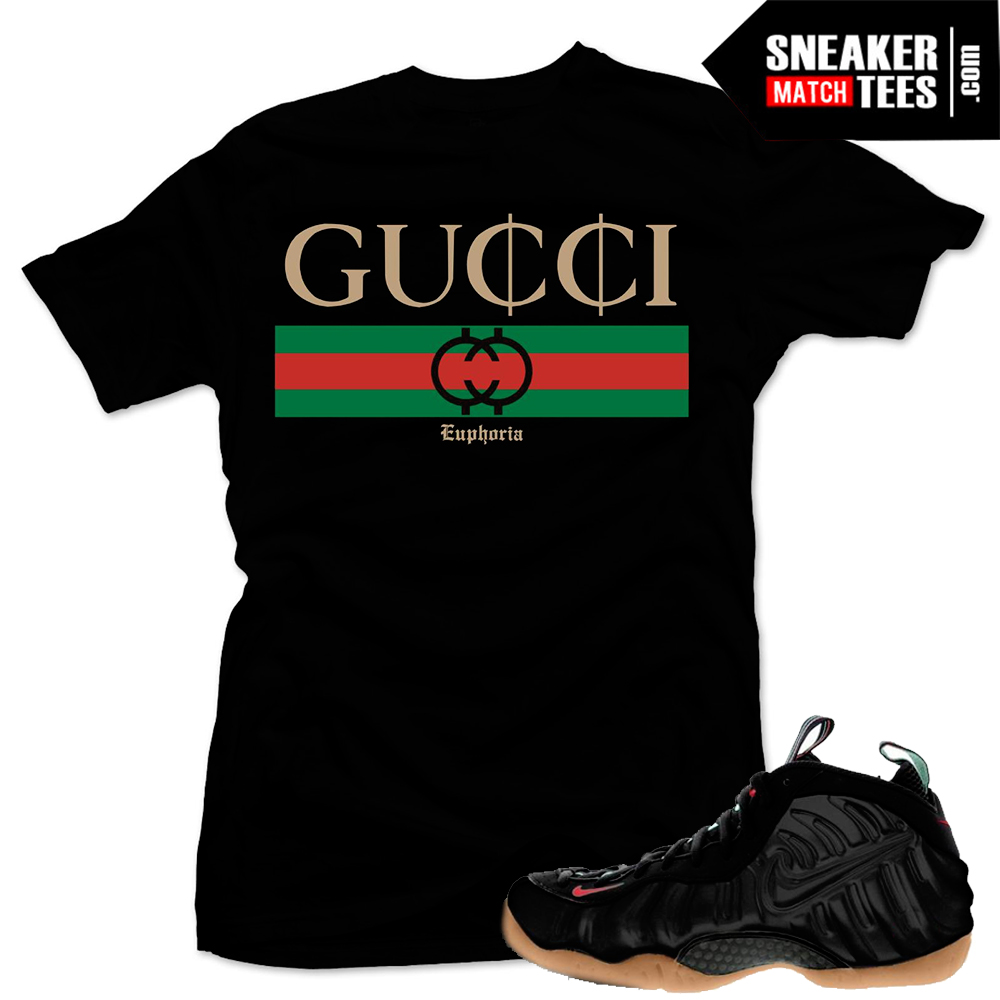 Nike Foamposite Gucci Shirt
