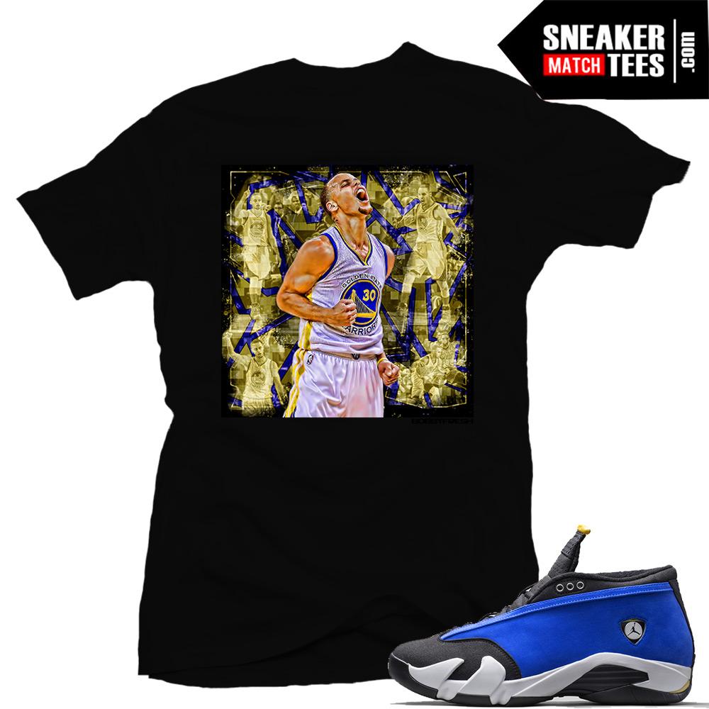 Laney 14 Jordans t shirt Stephen Curry Warriors shirt