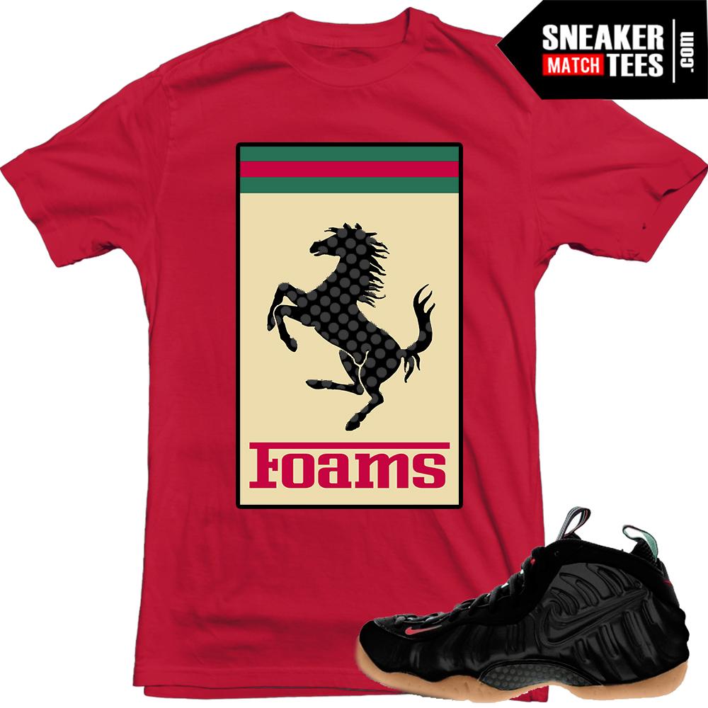 """663de589273 Gucci Foams shirts to match """"FOAMS"""" Red shirt"""
