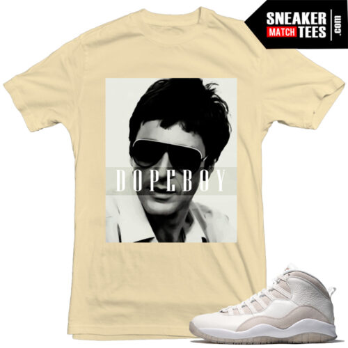 OVO Jordan 10s matching t shirts sneaker tees sneaker match tees