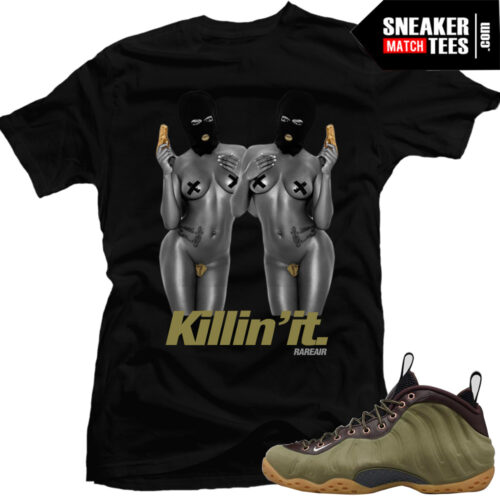 Olive-Foamposite-matching-sneaker-tees-clothing