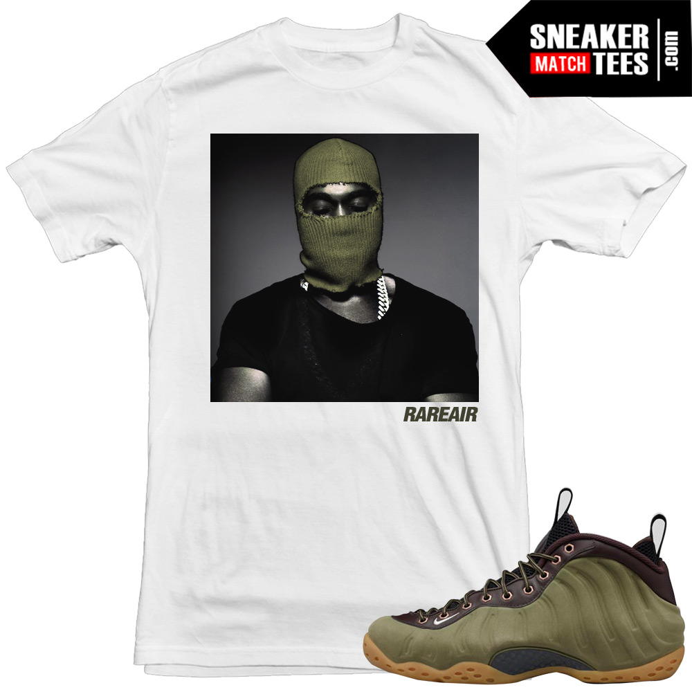 ad0026ecb9f04 Nike Foams Olive Shirts to match Sneakers