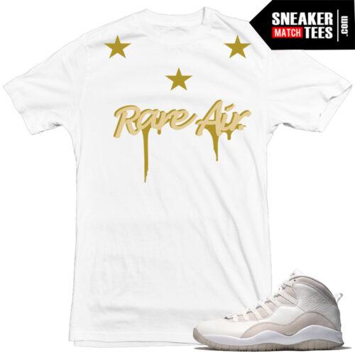 Jordan 10s OVO matching sneaker tees Nike
