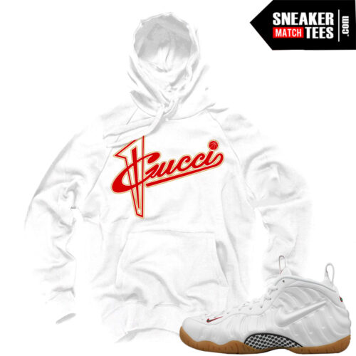 Gucci-Foamposite-White-hoodie-to-match-sneakers