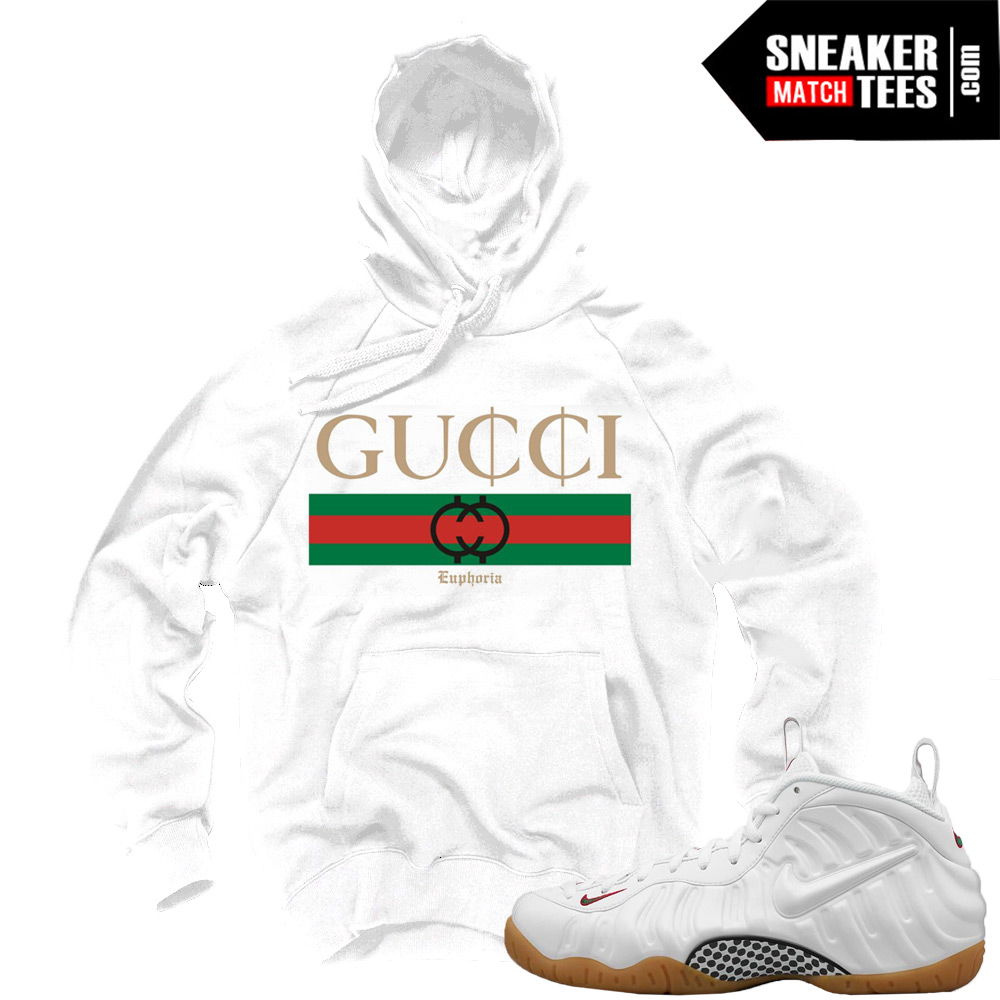 online store 4cc1c 9b7ba Gucci Foams White Sweatshirts to match