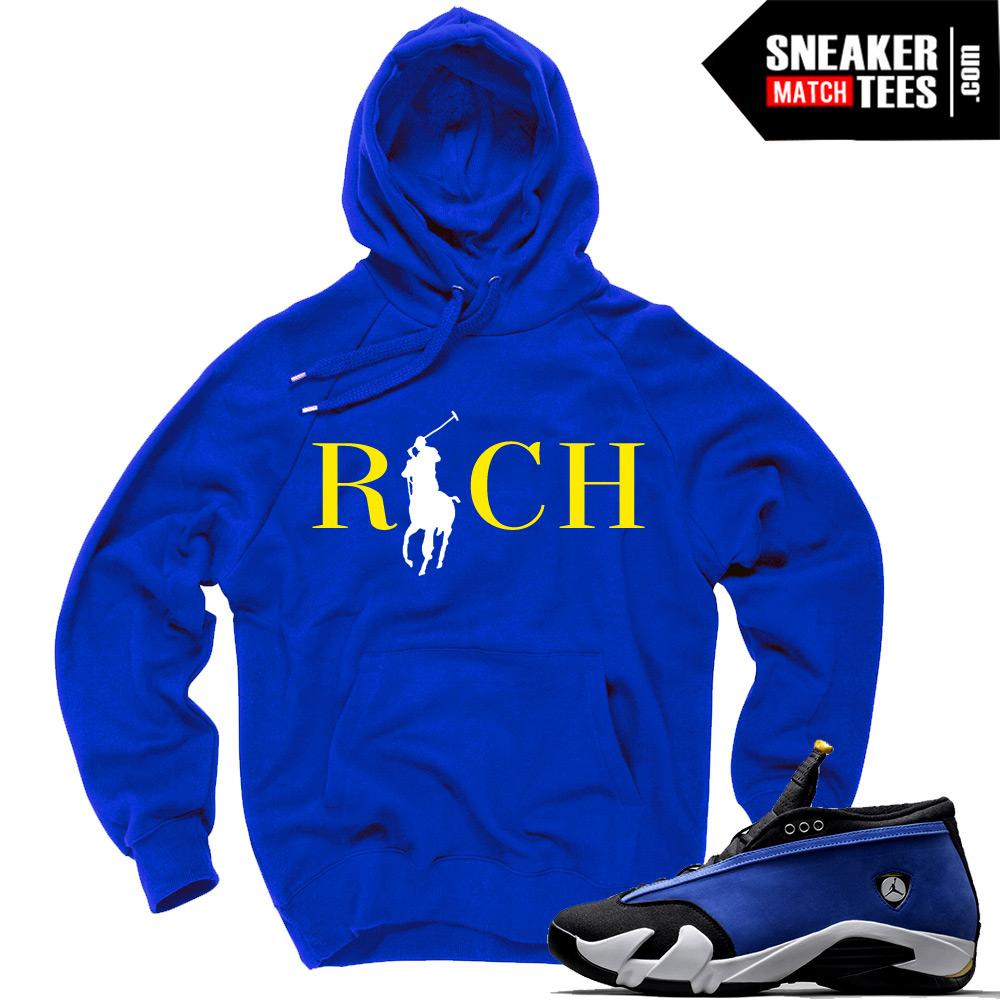 529773f8588063 Hoodie and Clothing matching Laney 14 Jordans