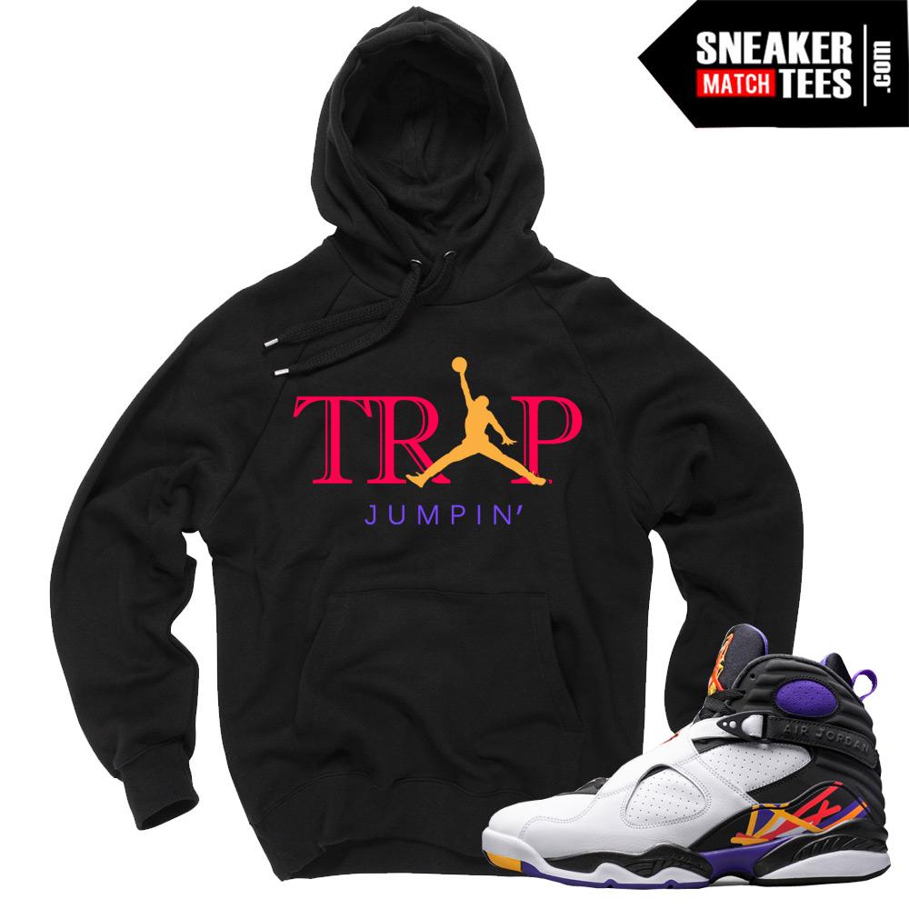 "6296ae7fa1ade1 Jordan 8 Three Peat Sweaters to match ""Trap Jumpin"""
