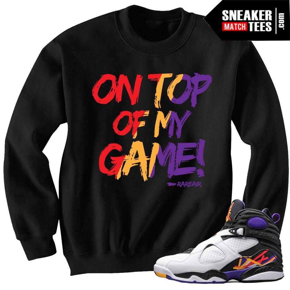 Three Jordan To Sweaters Match 8 Peat R4q3Aj5L