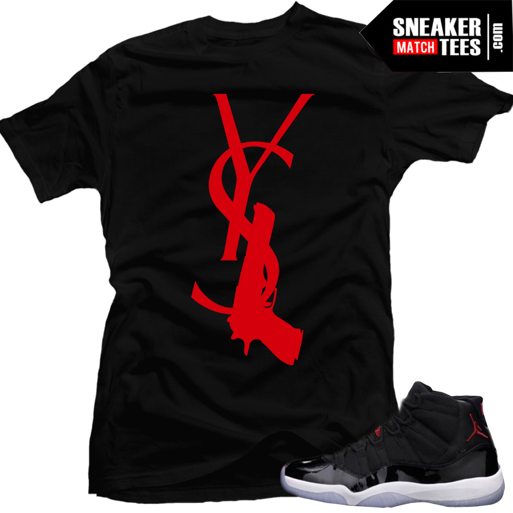 Find the best shirts to match your sneakers. Tee shirts inspired and designed to match new and classic Jordan, Lebron, and Nike Foamposite releases.