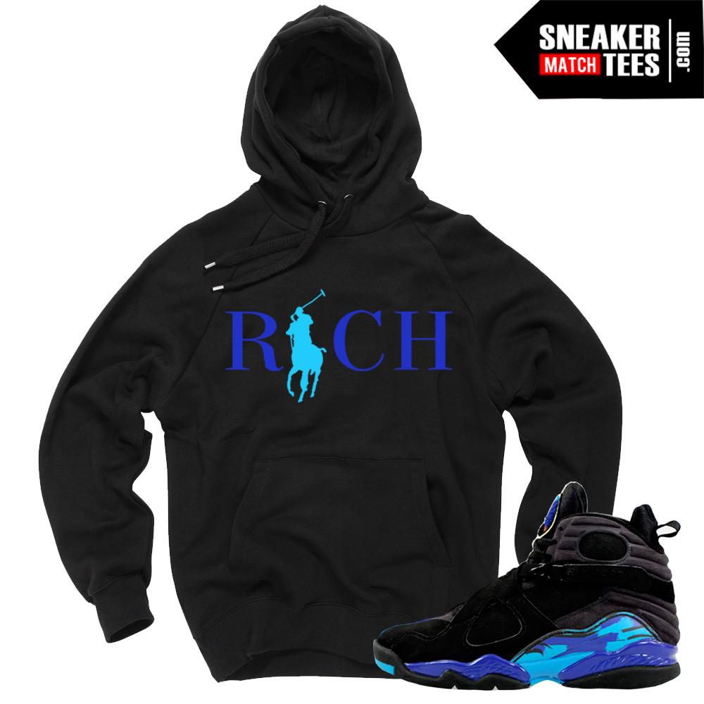 Aqua 8s Match T Shirts Jordan Retros Black Friday | Sneaker Match Tees