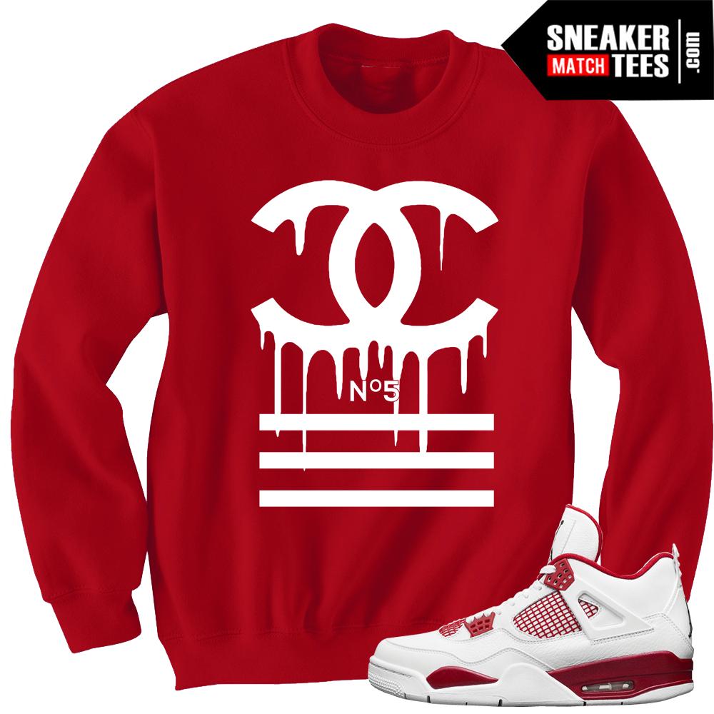 Jordan 4 1989 Fire Red Jordan Sweaters