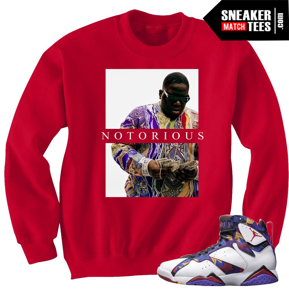 jordan 7 sweater outfit