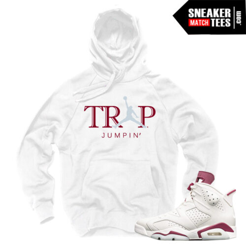 Maroon 6 Jordan Retros matching Clothing
