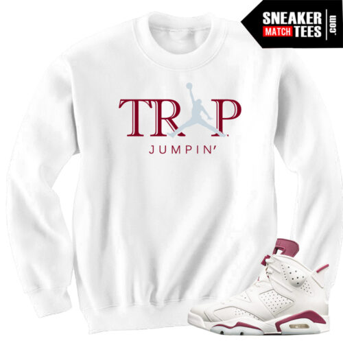 Sweater-to-match-Maroon-6-Jordans