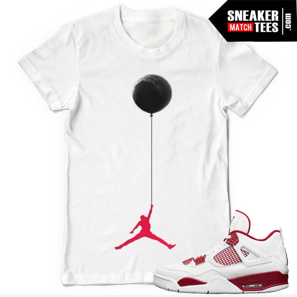T shirt design jordan - Jordan 4 T Shirts Alternate 89