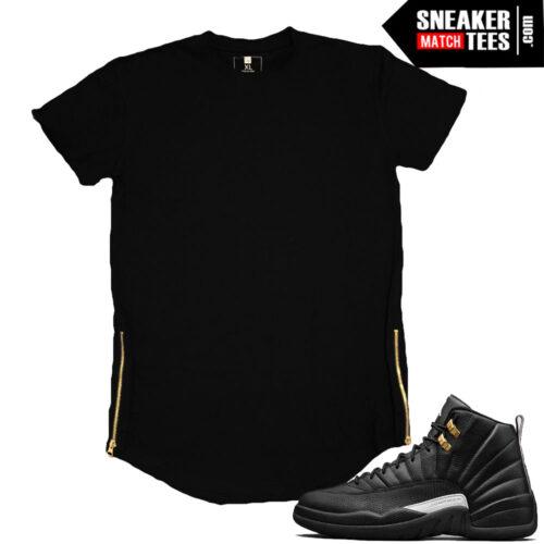 Jordan 12 Master matching t shirts