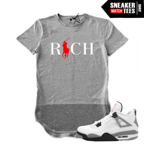 Cement 4s shirt