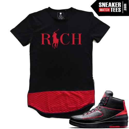 Jordan shirts to match Retro 2 Alternate 87