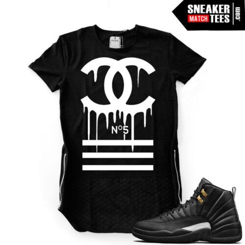Master 12s Jordan Black Shirt