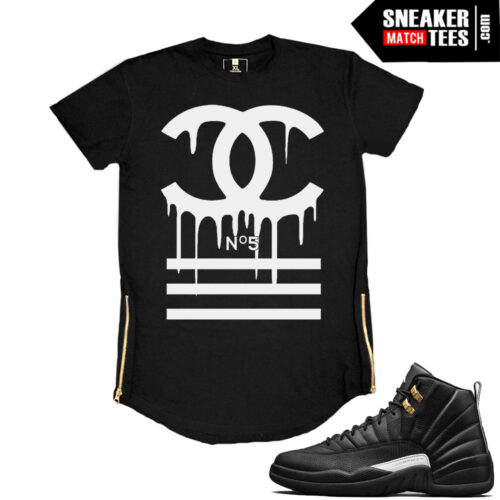 Master 12s matching t shirts streetwear
