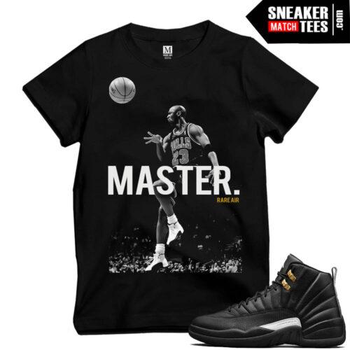 Master 12s sneaker tees