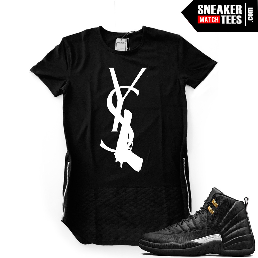 Ysl t shirt jordan 12 master for Who sells ysl t shirts