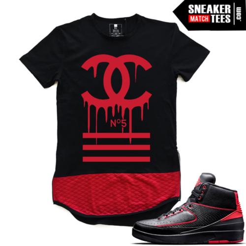 Shirts to match Jordan 2 Alternate 87