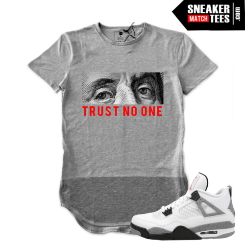 t shirts that match Cement 4s
