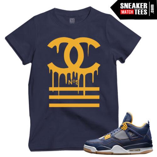 Dunk From above 4s Jordan T shirts match