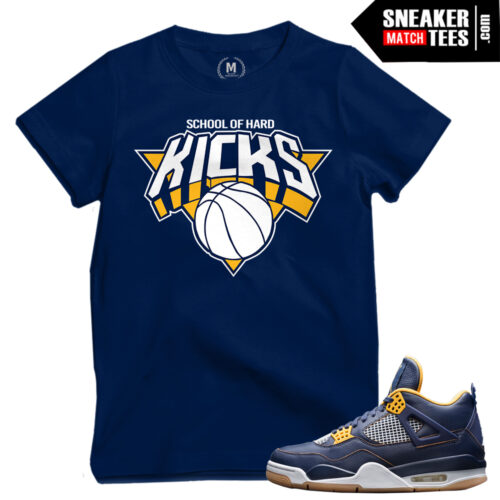 Dunk From above 4s match shirts sneaker tees