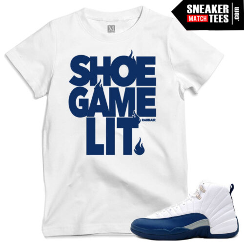 French Blue matching t shirts jordan retros