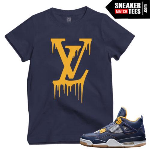 Jordan 4 Dunk From Above matching t shirts
