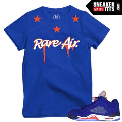 Knick 5 lows match shirts Jordans