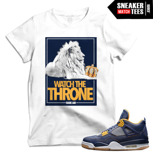 Match tees Dunk From Above 4s shirts