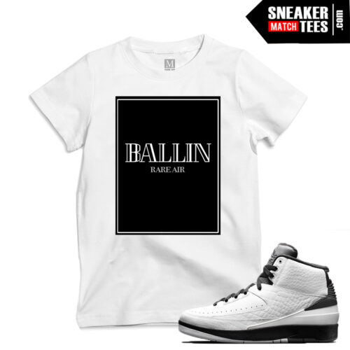 T shirt to match Wing it 2s