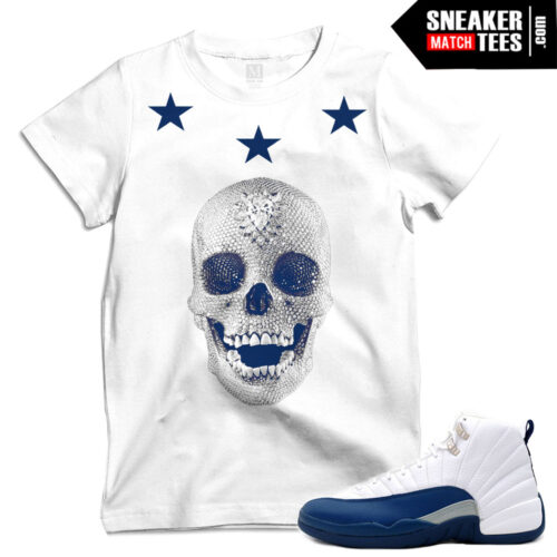 T shirts for the French Blue 12s