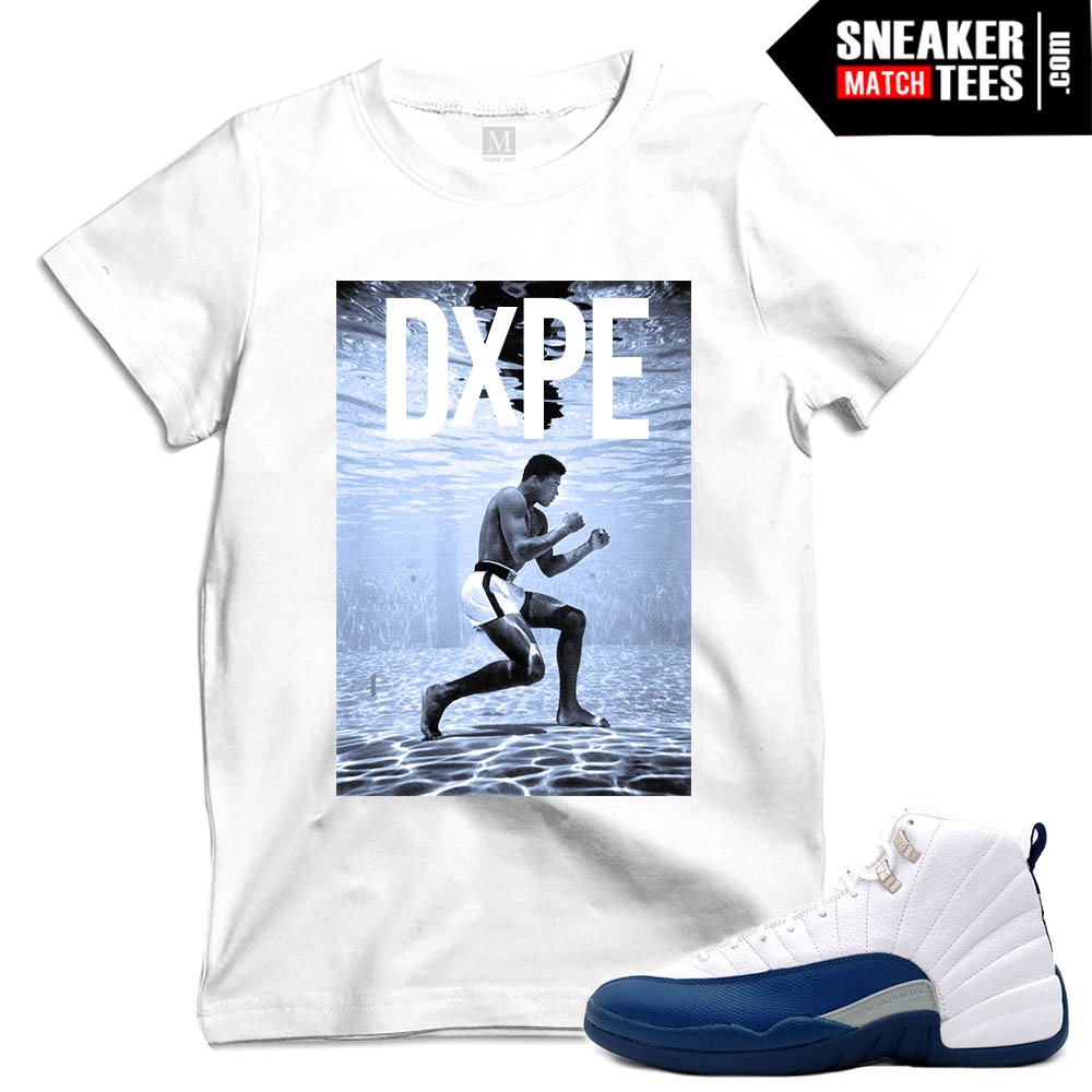 T shirts match french blue 12 sneakers sneaker match tees for French blue t shirt