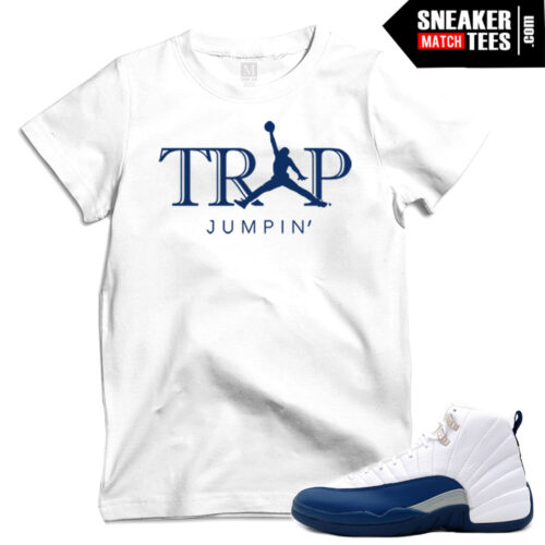 Shirts match French Blue 12s