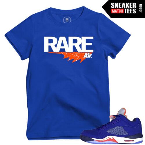 shirts to match Knick 5s low Jordans