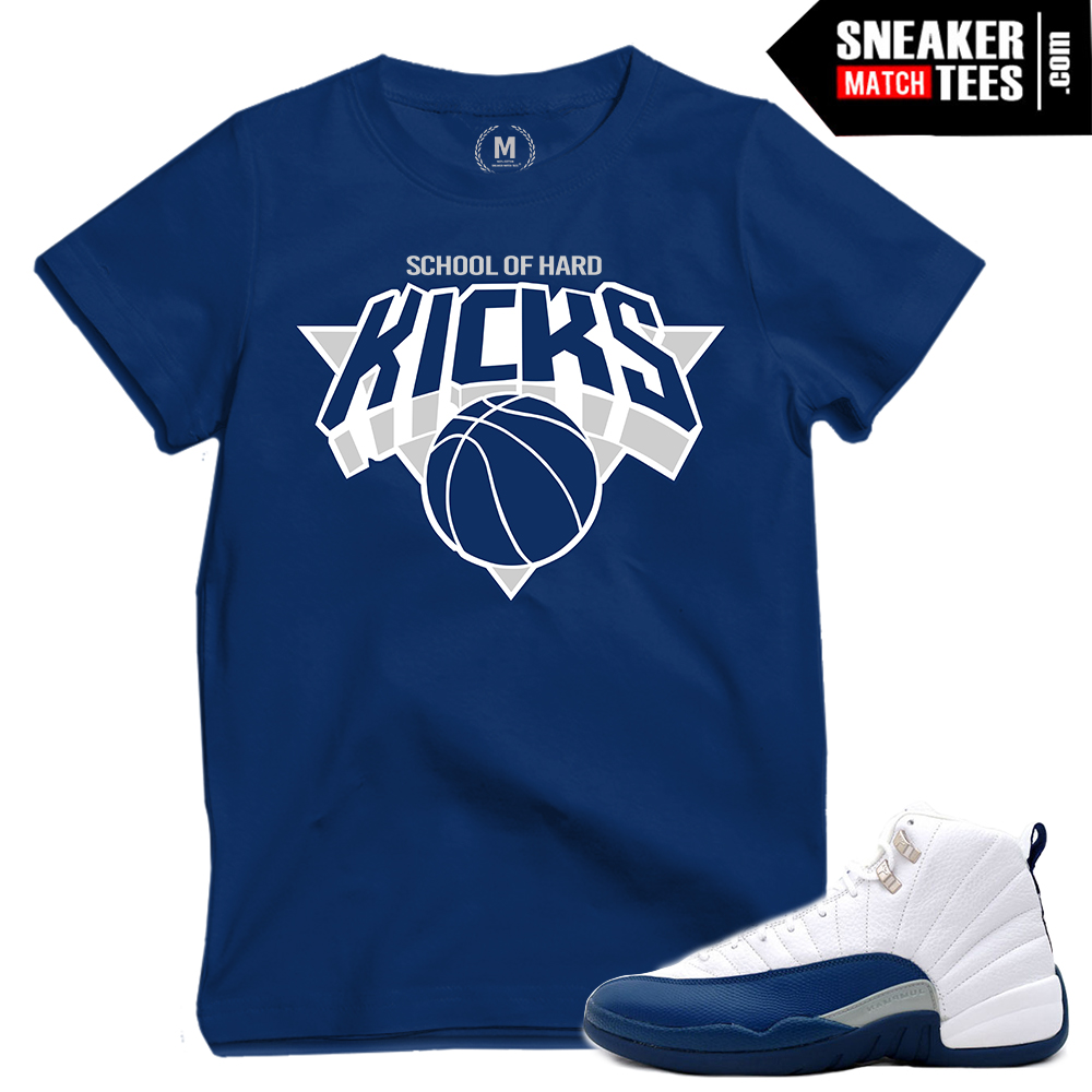 French blue 12s release date 2016 sneaker match tees for French blue t shirt