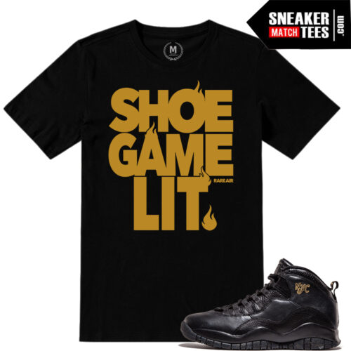 Match NYC 10 Jordan Retros t shirts