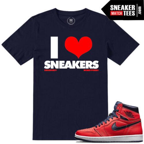 Matching shirts Jordan 1 Letterman