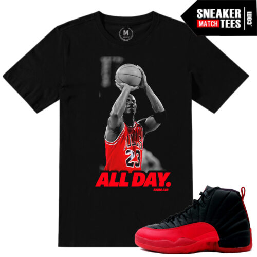 Shirt match Flu Game 12