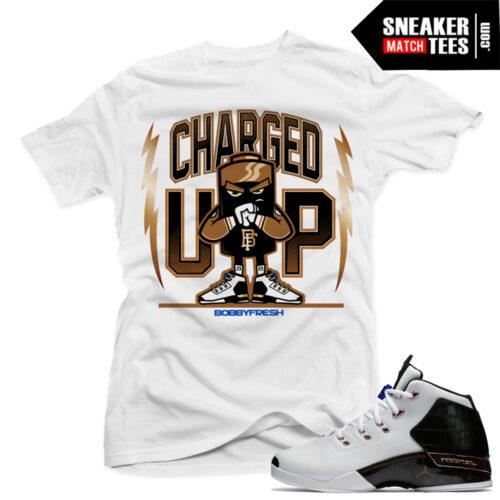 Sneaker tees match Copper 17 Jordans