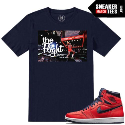 T shirt match Jordan 1 Letterman