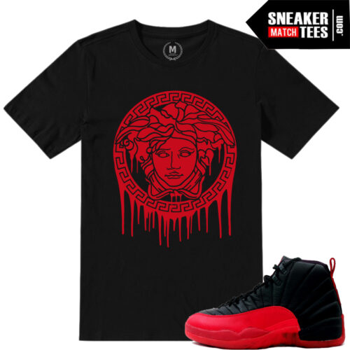 T shirts match Flu Game 12s