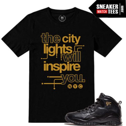 tshirts match NYC 10s Jordan